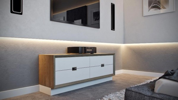 minimal furniture bedroom