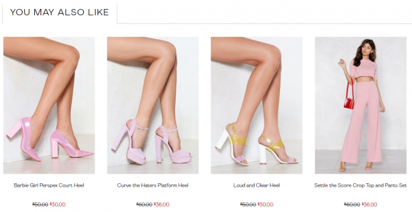 how to write a good product description that sells - nasty gal product tone title website