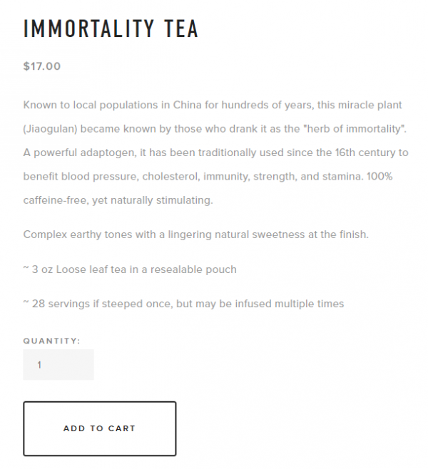 how to write a good product description that sells - teema teas product storytelling