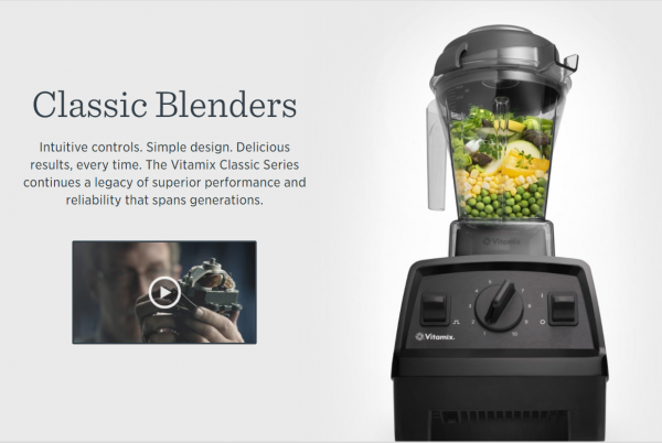 how to write a good product description that sells - vitamix classic blender use good images