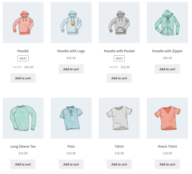 WooCommerce Shortcode - Products by Category